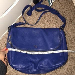 Royal Blue Fossil Bag